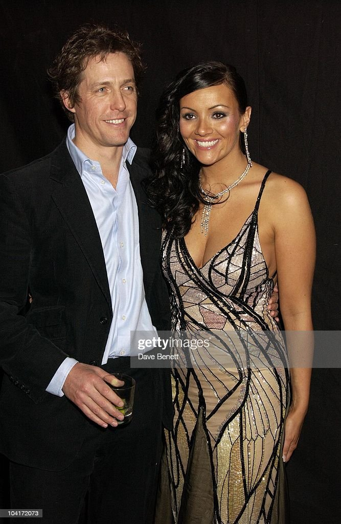 Hugh Grant & Martine Mccutcheon, 'Love Actually' Movie Premiere After Party At The In & Out Club, London