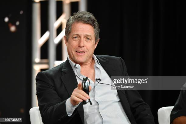 Hugh Grant of The Undoing speaks during the HBO segment of the 2020 Winter TCA Press Tour at The Langham Huntington Pasadena on January 15 2020 in...
