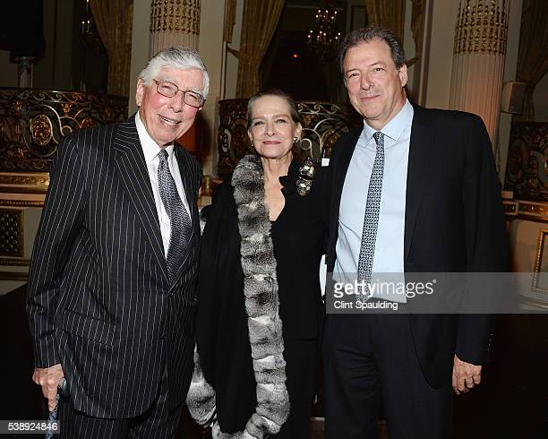 Hugh Hardy, Adele Chatfield Taylor, and Richard Olcott attend The Municipal Art Society of New York 2016 Jacqueline Kennedy Onassis Medal event at...