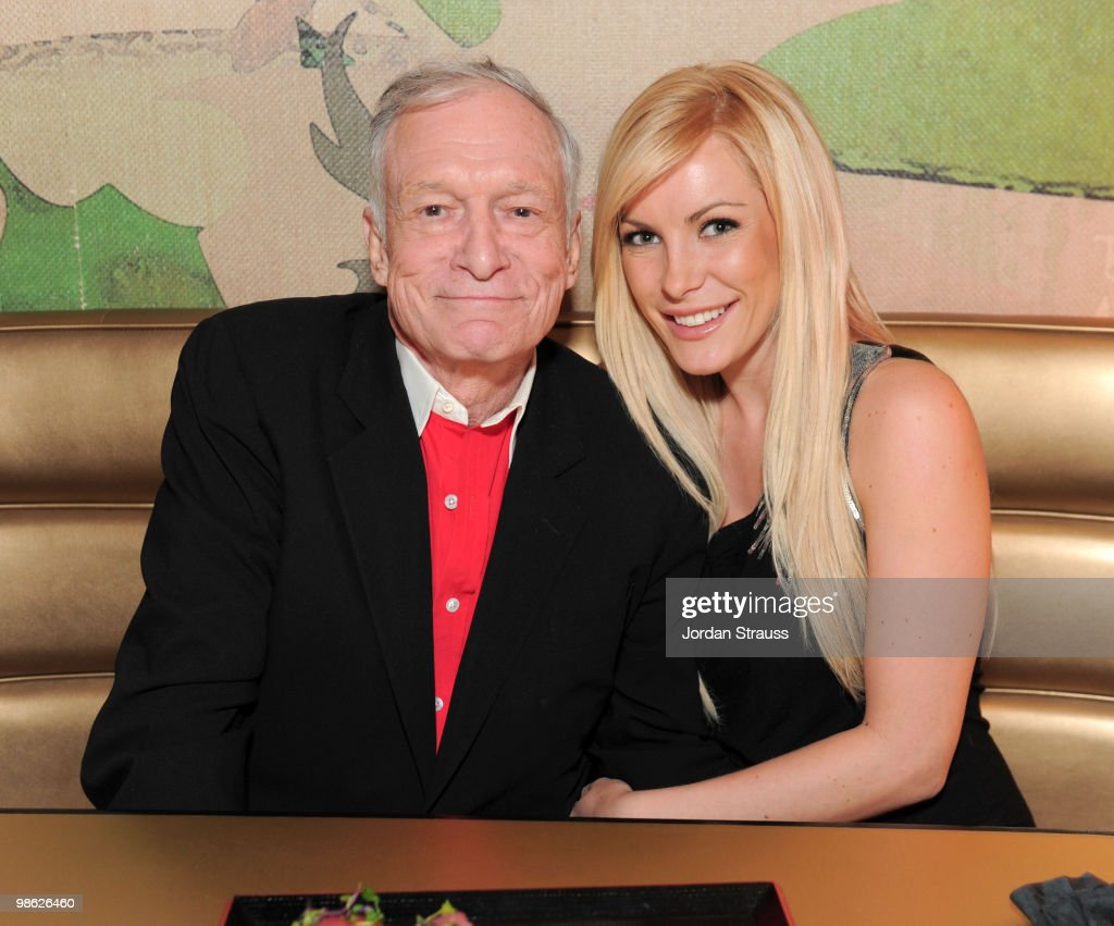 Hugh Hefner and Crystal Harris attend the TCM Classic Film Festival Vanity Fair after party held at Kress on April 22, 2010 in Hollywood, California. 19825_009_JS_0077.JPG