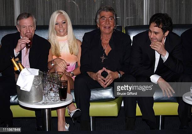 Hugh Hefner Kendra Wilkinson Roberto Cavalli and George Maloof