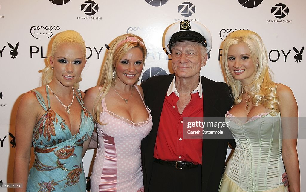 Cannes - Playboy's Hugh Hefner Celebrates His 80th Birthday : News Photo