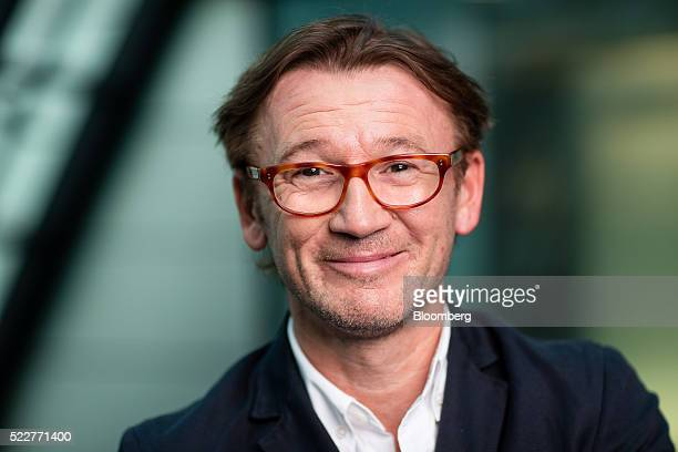 Hugh Hendry hedge fund manager at Eclectica Asset Management poses for a photograph following a Bloomberg Television interview in London UK on...