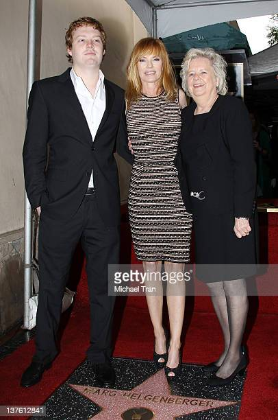 Hugh Howard Rosenberg Marg Helgenberger and Kay Helgenberger attend the ceremony honoring Marg Helgenberger with a Star on The Hollywood Walk of Fame...