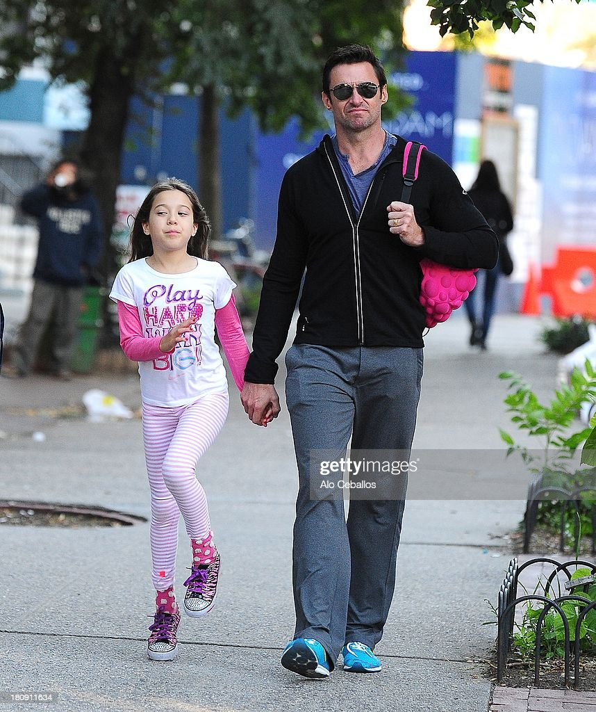 Celebrity Sightings In New York City - September 17, 2013