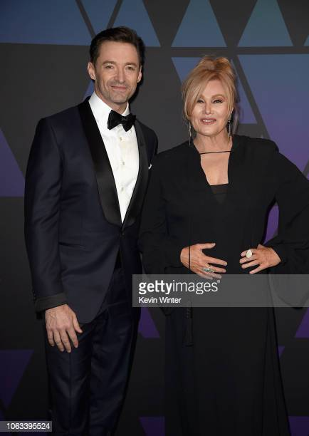 Hugh Jackman and Deborralee Furness attend the Academy of Motion Picture Arts and Sciences' 10th annual Governors Awards at The Ray Dolby Ballroom at...