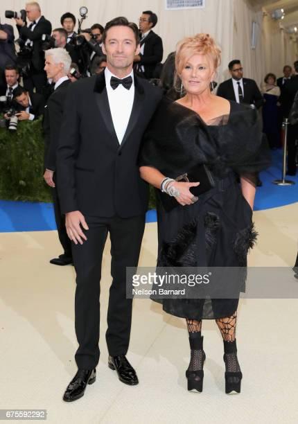 Hugh Jackman and DeborraLee Furness attend the 'Rei Kawakubo/Comme des Garcons Art Of The InBetween' Costume Institute Gala at Metropolitan Museum of...