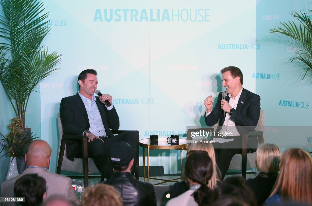 Hugh Jackman And Evans Discuss How Social Entrepreneurs Inspire Change At The Laughing Man Coffee