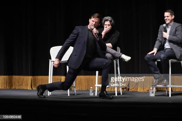 "Hugh Jackman and Jason Reitman speaks at the 21st SCAD Savannah Film Festival for the Gala Screening ""The Front Runner"" & Hugh Jackman Legends Of..."