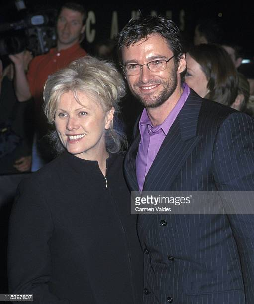 Hugh Jackman And Wife Deborra Lee Furness during The 12th Annual Rainforest Foundation Benefit Arrivals at Carnegie Hall in New York City New York...