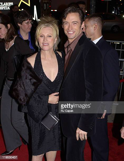 """Hugh Jackman and wife Deborra-Lee Furness during Broadway Play Premiere of """"The Boy From Oz"""" - After Party at Copacabana in New York City, NY, United..."""