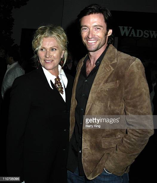Hugh Jackman and wife Deborra-Lee Furness during Venice Magazine Presents Oscar Wilde's Salome Opening Night at Wadsworth Theatre in Los Angeles,...