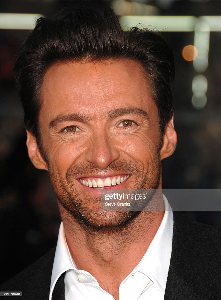 Hugh Jackman at the Grauman's Mann Chinese Theater on April 28, 2009 in Hollywood, California.