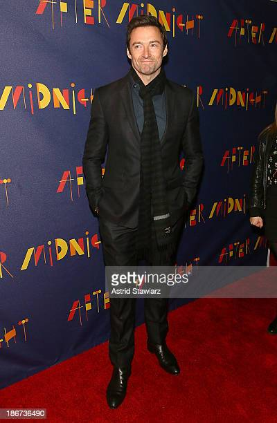 Hugh Jackman attends After Midnight Broadway opening night at Brooks Atkinson Theatre on November 3 2013 in New York City