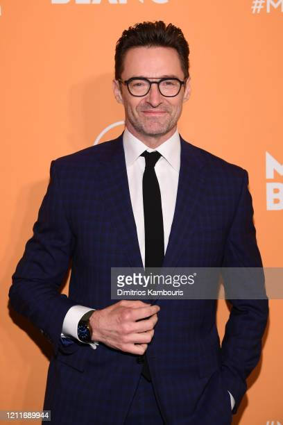Hugh Jackman attends as Montblanc celebrates the launch of MB 01 Headphones & Summit 2+ at World of McIntosh on March 10, 2020 in New York City.