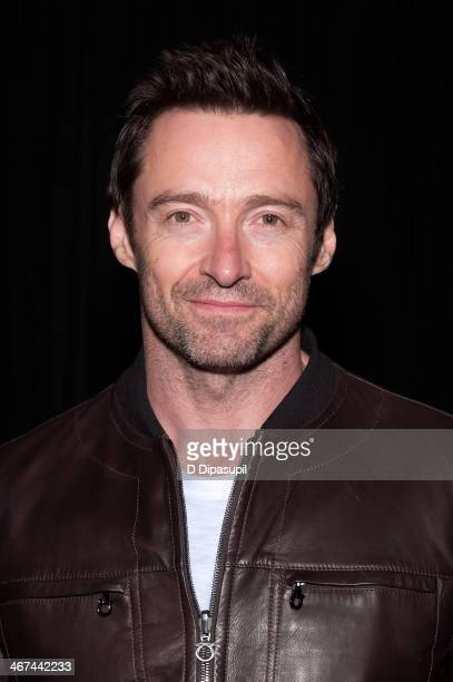 Hugh Jackman attends 'King Lear' at the BAM Harvey Theater on February 6 2014 in New York City