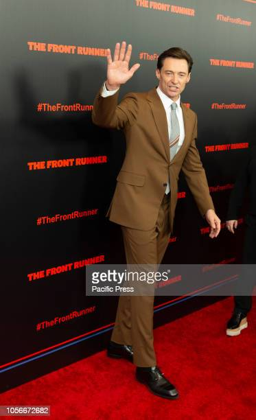 Hugh Jackman attends premiere The Front Runner at Museum of Modern Art