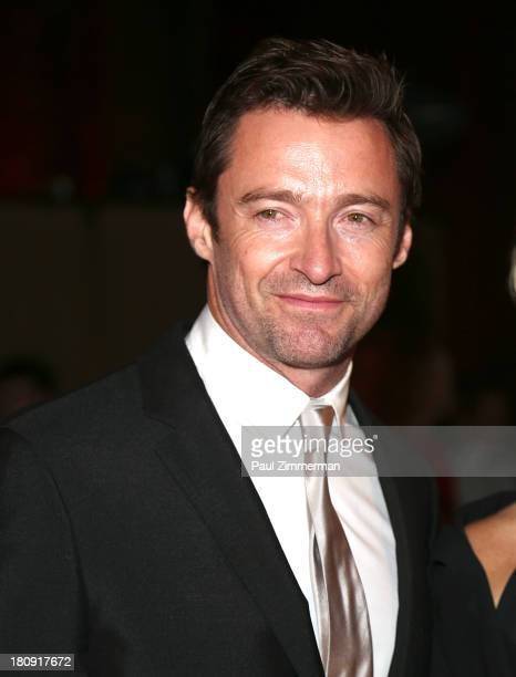 Hugh Jackman attends the 14th Annual New Yorkers For Children Fall Gala at Cipriani 42nd Street on September 17 2013 in New York City