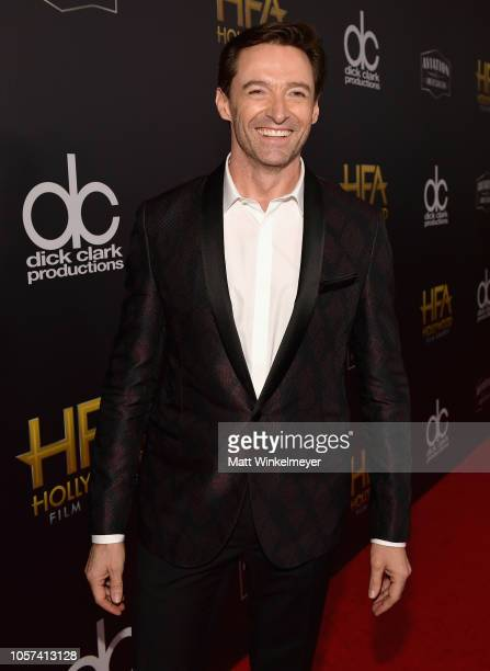 Hugh Jackman attends the 22nd Annual Hollywood Film Awards at The Beverly Hilton Hotel on November 4 2018 in Beverly Hills California