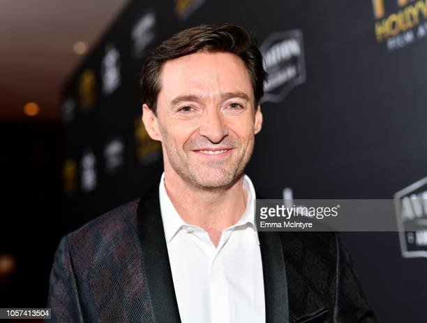 Hugh Jackman attends the 22nd Annual Hollywood Film Awards at The Beverly Hilton Hotel on November 4, 2018 in Beverly Hills, California.