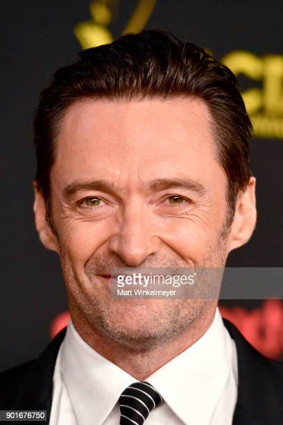 Hugh Jackman attends the 7th AACTA International Awards at Avalon Hollywood in Los Angeles on January 5 2018 in Hollywood California