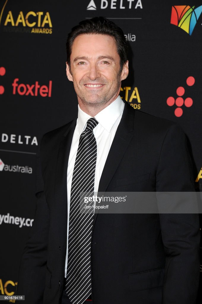 Hugh Jackman attends the 7th AACTA International Awards at Avalon Hollywood in Los Angeles on January 5, 2018 in Hollywood, California.