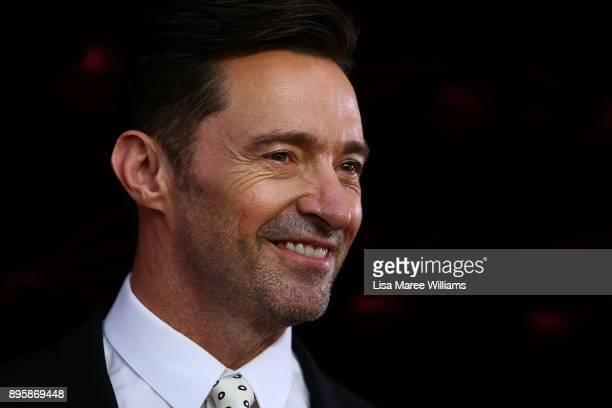 Hugh Jackman attends the Australian premiere of The Greatest Showman at The Star on December 20 2017 in Sydney Australia