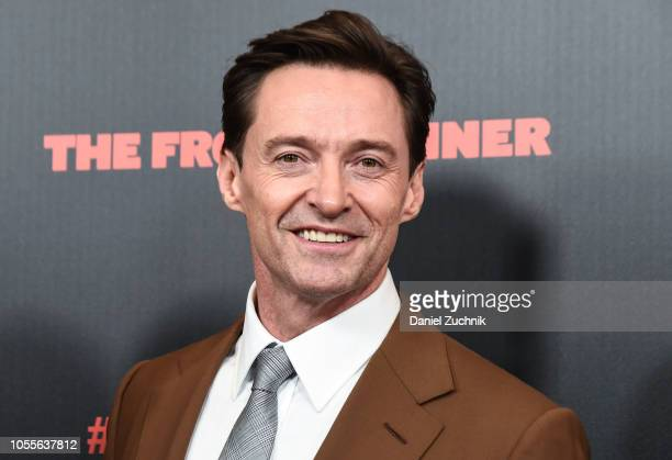 Hugh Jackman attends 'The Front Runner' New York Premiere at Museum of Modern Art on October 30 2018 in New York City