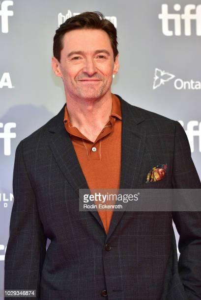 Hugh Jackman attends The Front Runner Press Conference during 2018 Toronto International Film Festival at TIFF Bell Lightbox on September 8 2018 in...