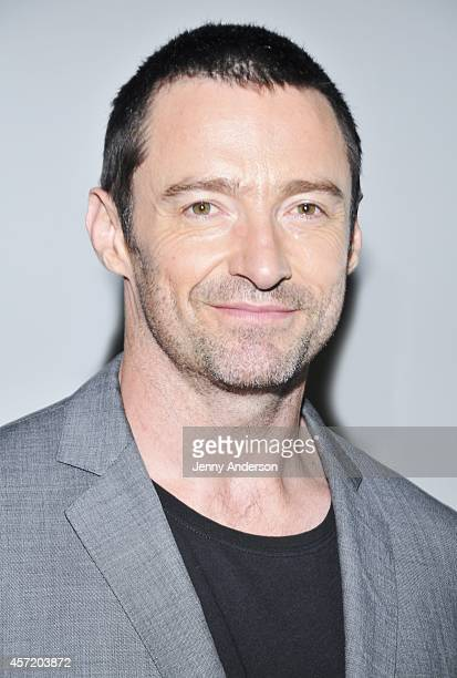 Hugh Jackman attends the meet and greet for Broadway's 'The River' on October 14 2014 in New York City