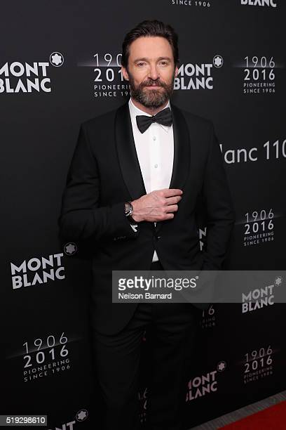 Hugh Jackman attends the Montblanc 110 Year Anniversary Gala Dinner on April 5 2016 in New York City