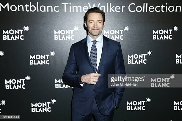 Hugh Jackman attends the Montblanc Gala Dinner as part of The SIHH at Brasserie Des Halles on January 16 2017 in Geneva Switzerland