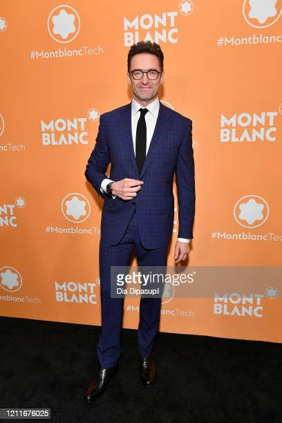 Hugh Jackman attends the Montblanc MB01 Headphones & Summit 2+ Launch Party at World of McIntosh on March 10, 2020 in New York City.
