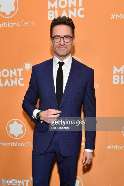 Hugh Jackman attends the Montblanc MB01 Headphones Summit 2 Launch Party at World of McIntosh on March 10 2020 in New York City