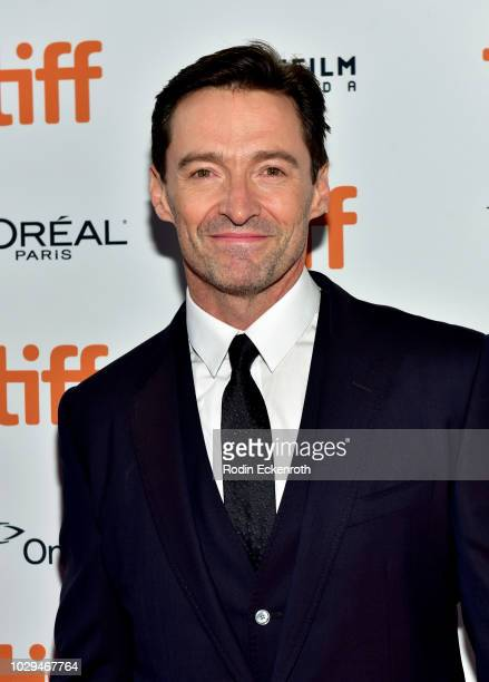 """Hugh Jackman attends the """"The Front Runner"""" premiere during 2018 Toronto International Film Festival at Ryerson Theatre on September 8, 2018 in..."""