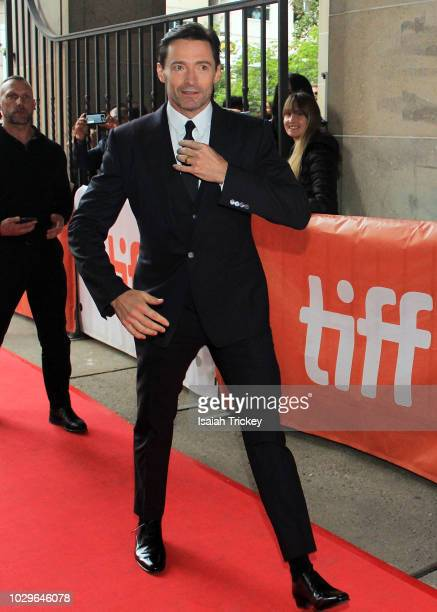 Hugh Jackman attends the 'The Front Runner' premiere during 2018 Toronto International Film Festival at Ryerson Theatre on September 8 2018 in...