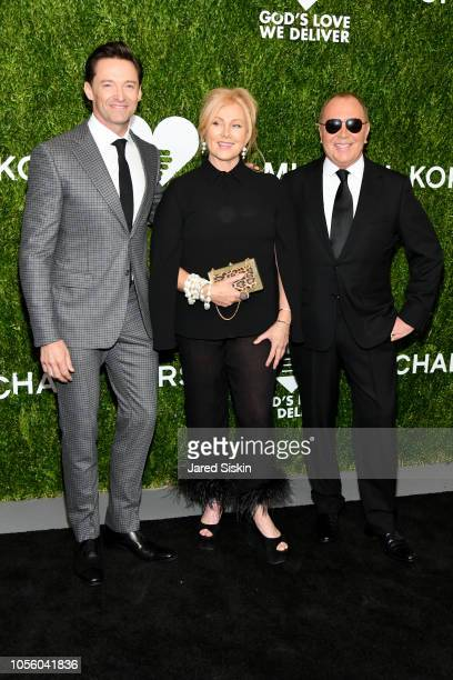 Hugh Jackman Deborralee Furness and Michael Kors attend The 12th Annual Golden Heart Awards at Spring Studios on October 16 2018 in New York City