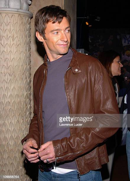 Hugh Jackman during Hugh Jackman Star of Universal Pictures' Van Helsing Launches Chamber Live Featuring Van Helsing at Madame Tussaud's New York's...