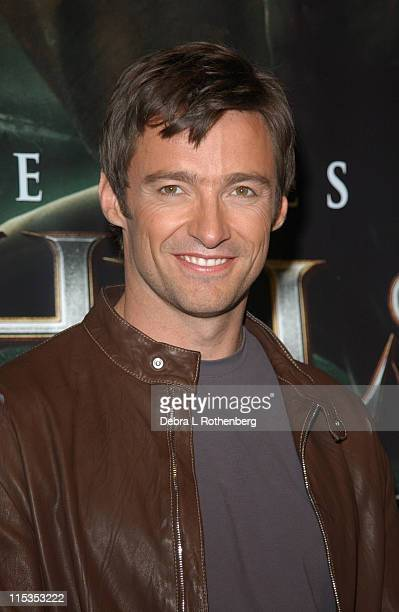Hugh Jackman during Hugh Jackman Star of Universal Pictures' 'Van Helsing' Launches 'Chamber Live Featuring Van Helsing' at Madame Tussaud's New...
