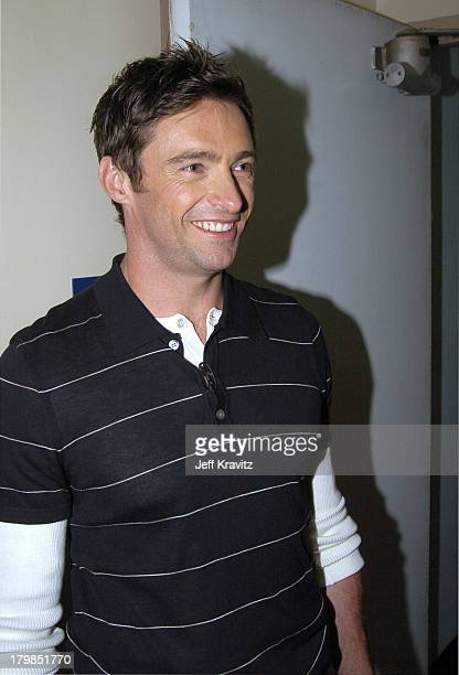 Hugh Jackman during Nickelodeon's 17th Annual Kids' Choice Awards Backstage at Pauley Pavillion in Westwood California United States