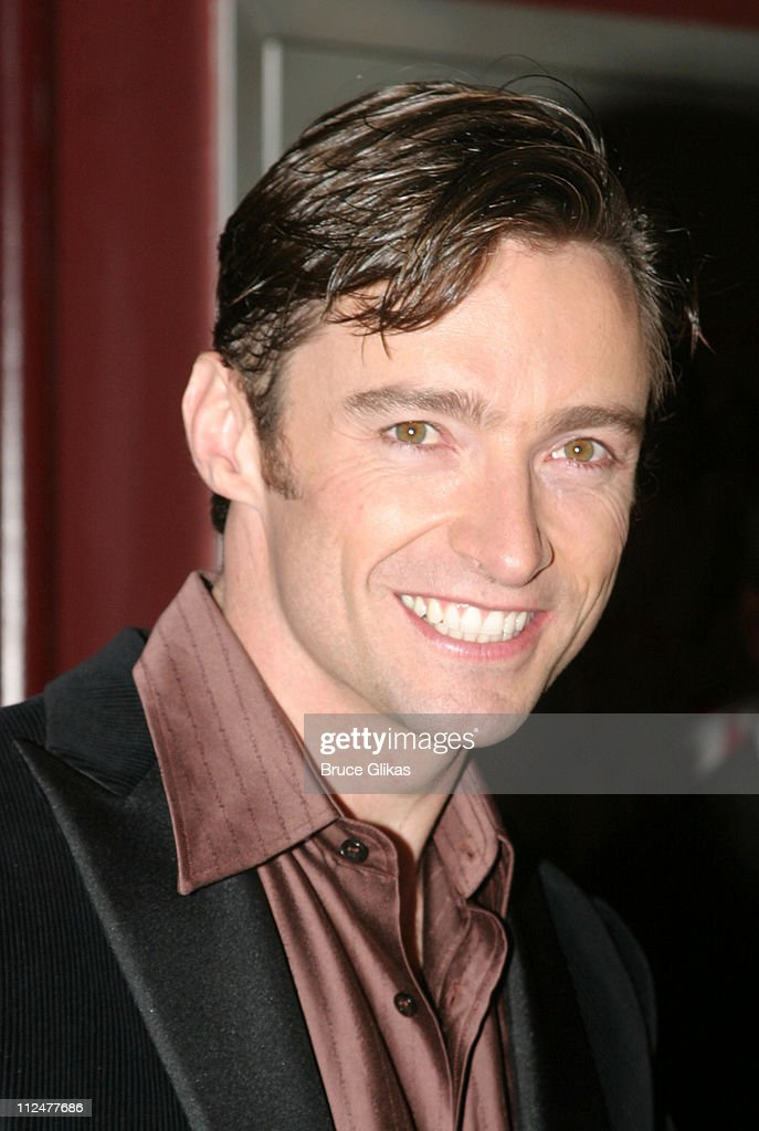 Hugh Jackman during Opening Night of 'The Boy From Oz' - Arrivals and After Party at The Imperial Theater and Copacabana Nightclub in New York City, New York, United States.