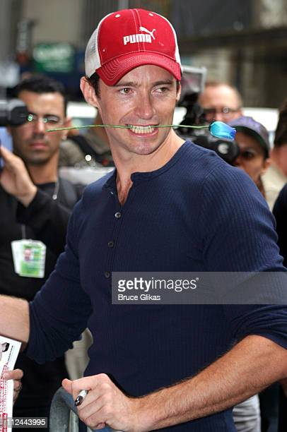 Hugh Jackman during Opening of the New York Box Office for 'The Boy From OZ' at Imperial Theatre in New York City New York United States
