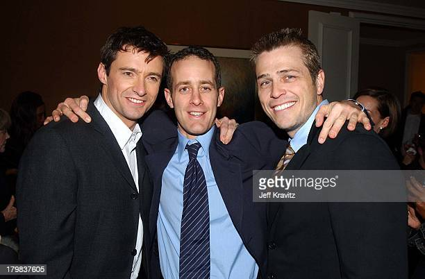Hugh Jackman Guest Patrick Whitesell during Kate Leopold Premiere by Miramax Films in Los Angeles California United States