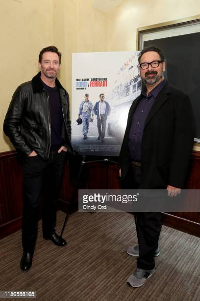 Hugh Jackman Hosts A Screening Of Ford v Ferrari With Director James Mangold on November 09 2019 in New York City