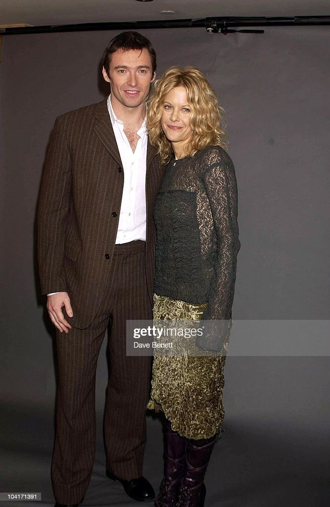 Hugh Jackman & Meg Ryan, 'Kate & Leopold' Movie Promotion In London