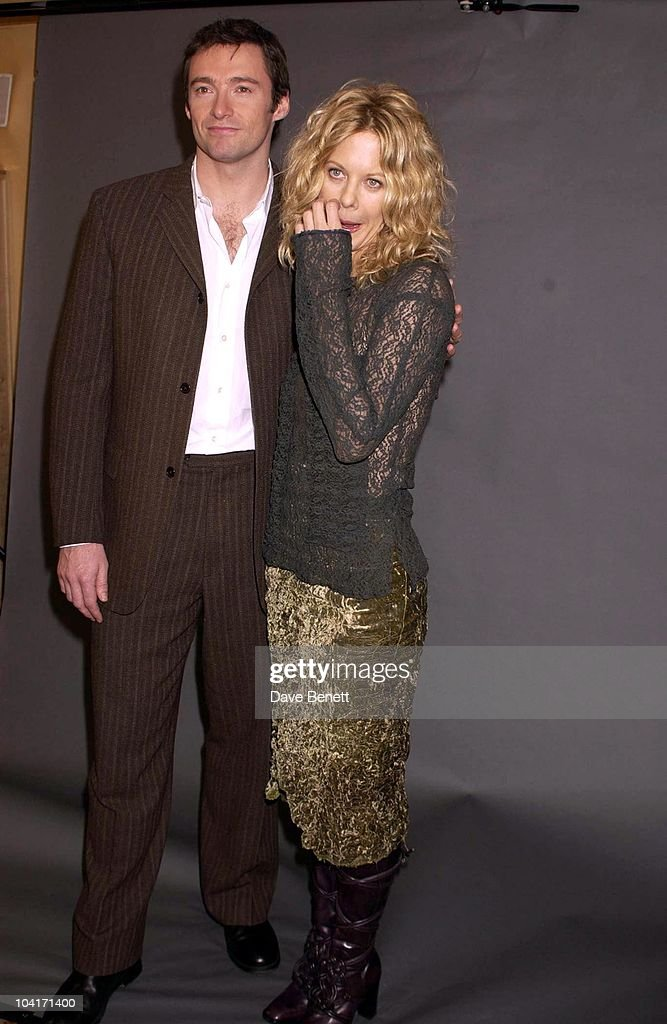 Hugh Jackman & Meg Ryan, 'Kate & Leopold' Movie Promotion In London