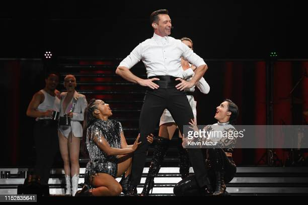 Hugh Jackman performs onstage during Hugh Jackman The Man The Music The Show at Madison Square Garden on June 29 2019 in New York City