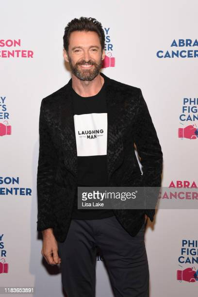 Hugh Jackman walks the red carpet during the Philly Fights Cancer Round 5 Event benefiting Penn Medicine's Abramson Cancer Center at the Philadelphia...