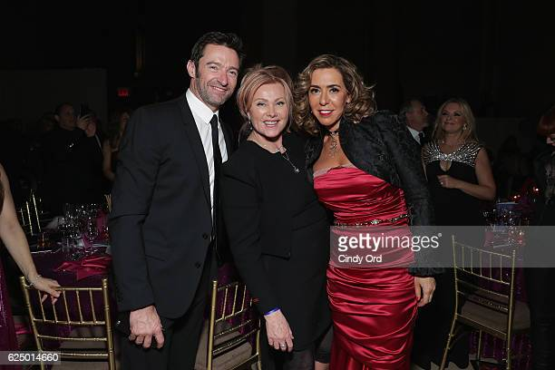Hugh JackmanDeborraLee Furness and Honoree Heloise Pratt attends the 2016 Angel Ball hosted by Gabrielle's Angel Foundation For Cancer Research on...