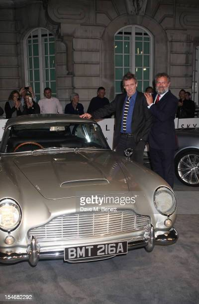 Hugh Laurie and Hugh Bonneville attend a VIP screening of 'Skyfall' hosted by Aston Martin at The Curzon Mayfair on October 24 2012 in London England
